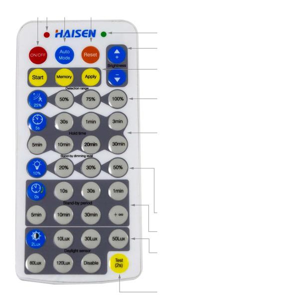 TELECOMMANDE HAISEN POUR T52VP
